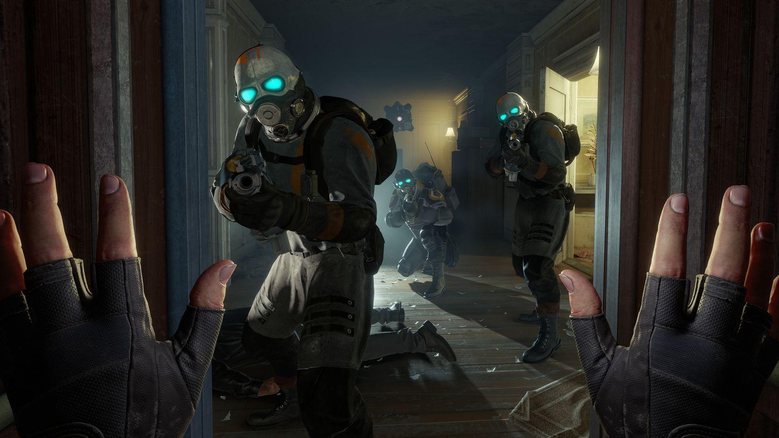 Half-Life: Alyx VR в клубе виртуальной реальности VRLocator