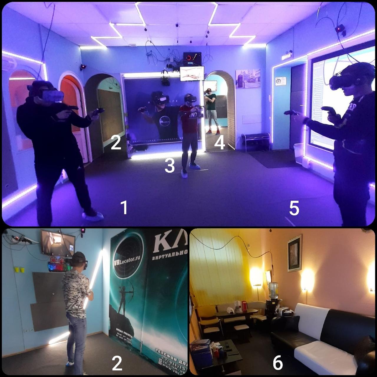 VRLocator клуб виртуальной реальности спб