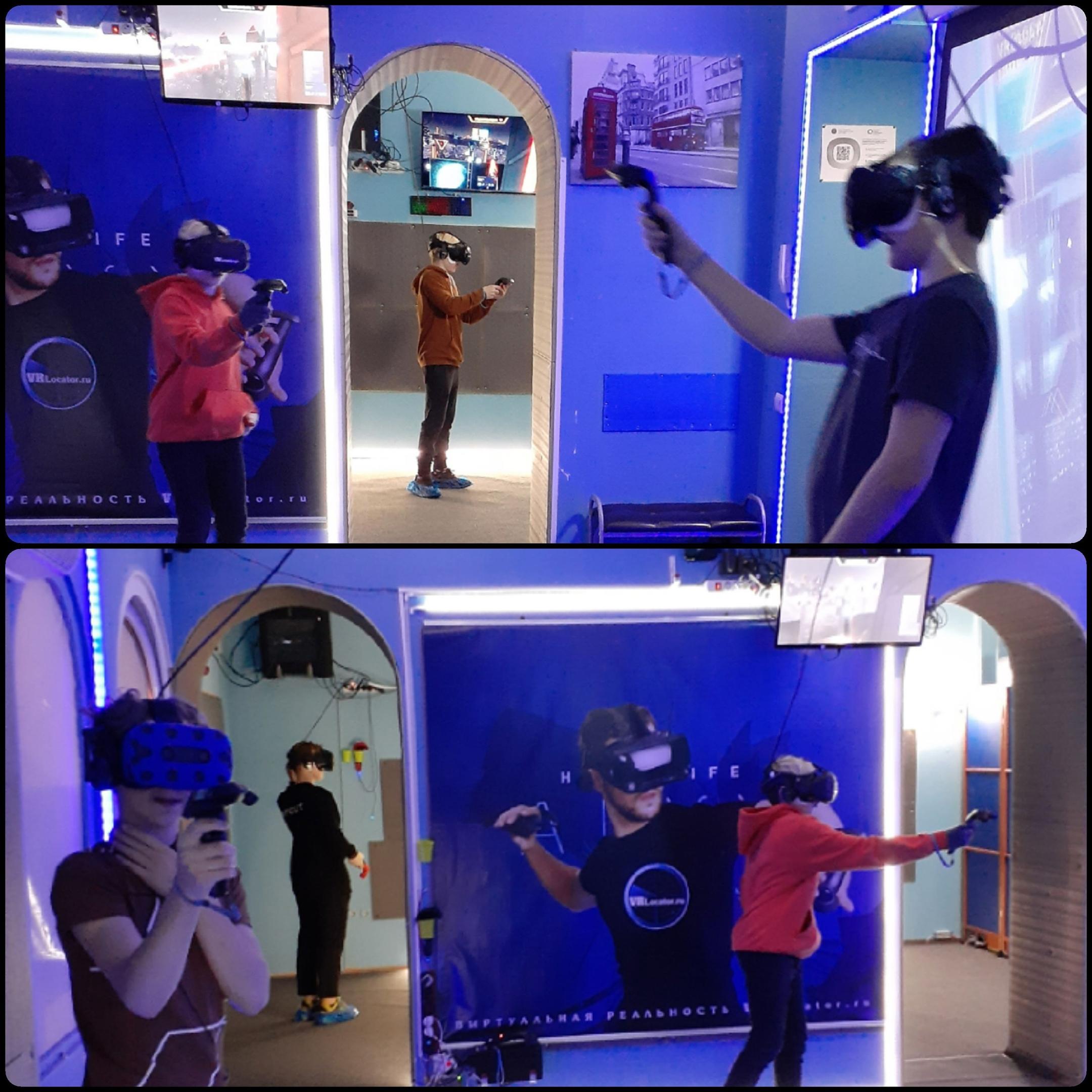 виртуальная реальность в клубе VRLocator спб