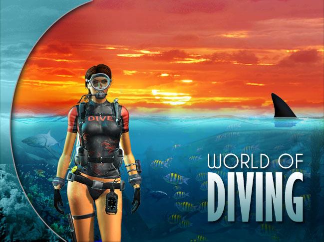 world of diving виртуальная реальность погружение